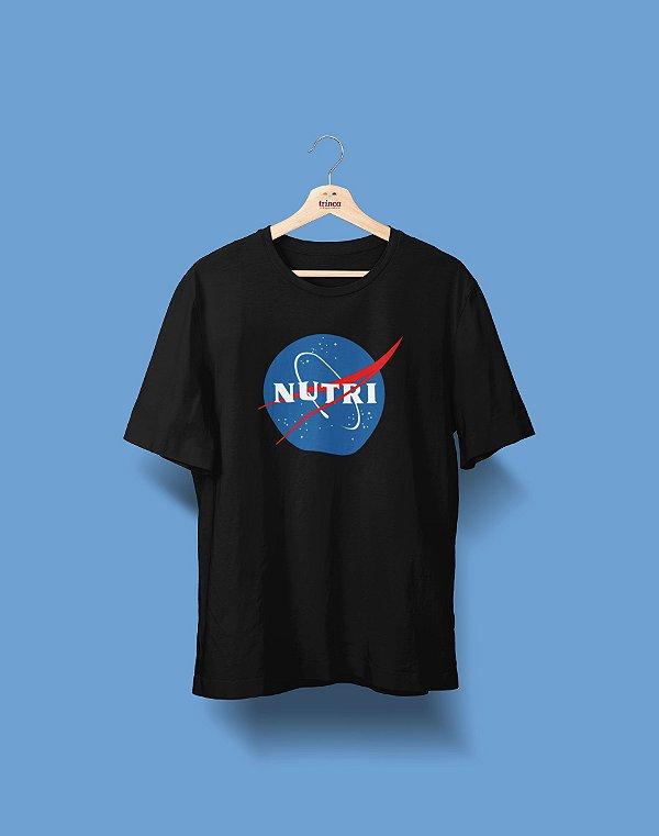 Camiseta Universitária - Nutrição - NASA - Basic