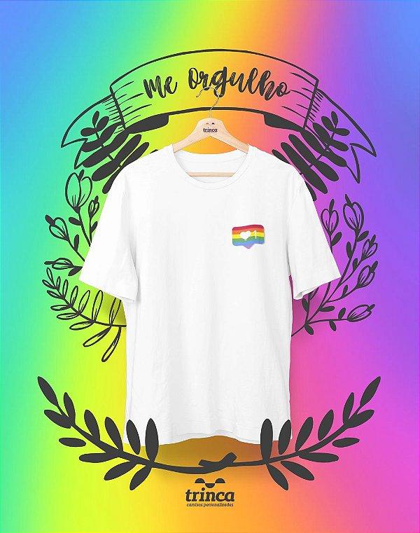 Camiseta Personalizada - Insta Pride - Me Orgulho - Basic