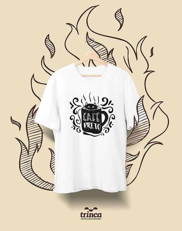 Camiseta Personalizada - Café - Café Preto - Basic