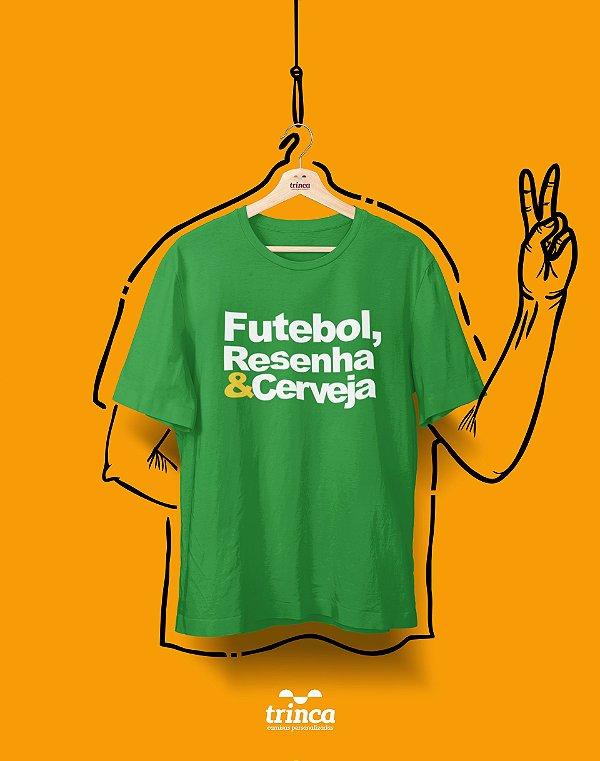 OUTLET - CAMISA - FUTEBOL, RESENHA E CERVEJA - BASIC