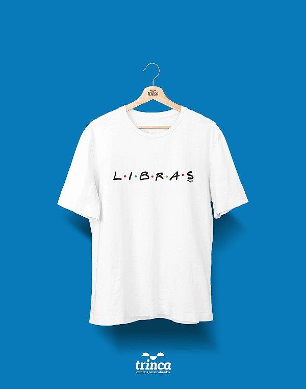 Camisa Universitária Libras - Friends - Basic