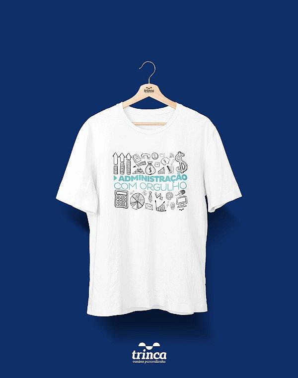 Camisa Administração - Fred Taylor - Preta - Basic