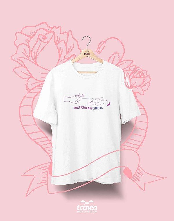 Camiseta Personalizada - Dia do Amor - Escrito nas Estrelas - Basic