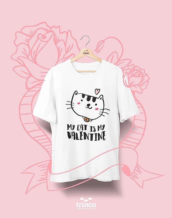 Camiseta Personalizada - Dia do Amor - MyCat - Basic