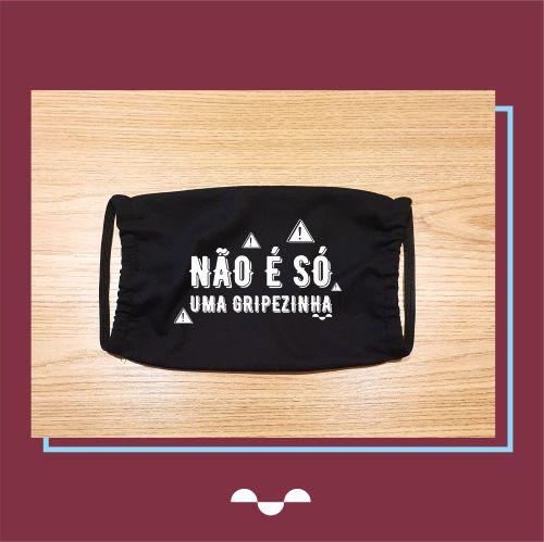 Máscara de Proteção Individual - Estampa 08  - (100% algodão - Reutilizável - Lavável)