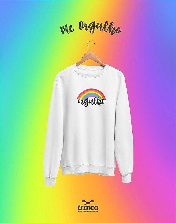 Moletom Básica (Flanelado) - Rainbow - Me Orgulho