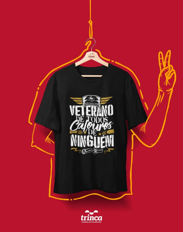 Camiseta Universitária - Veterano da P toda 02 - Basic
