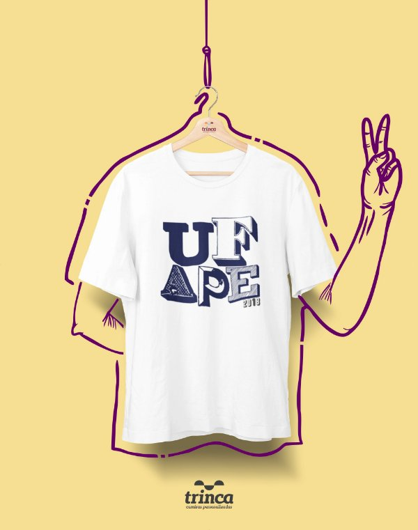 Camiseta - Coleção Sou Federal - UFAPE - Basic
