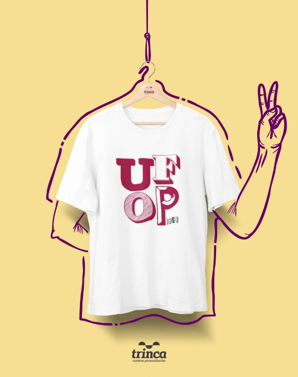Camiseta - Coleção Sou Federal - UFOP - Basic