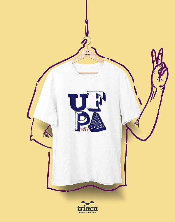 Camiseta - Coleção Sou Federal - UFPA - Basic