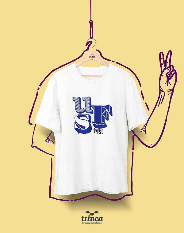 Camiseta - Coleção Sou Federal - UFS - Basic