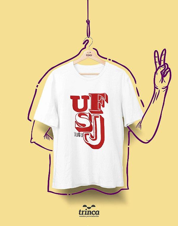 Camiseta - Coleção Sou Federal - UFSJ - Basic