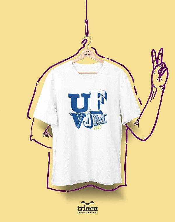 Camiseta - Coleção Sou Federal - UFVJM - Basic