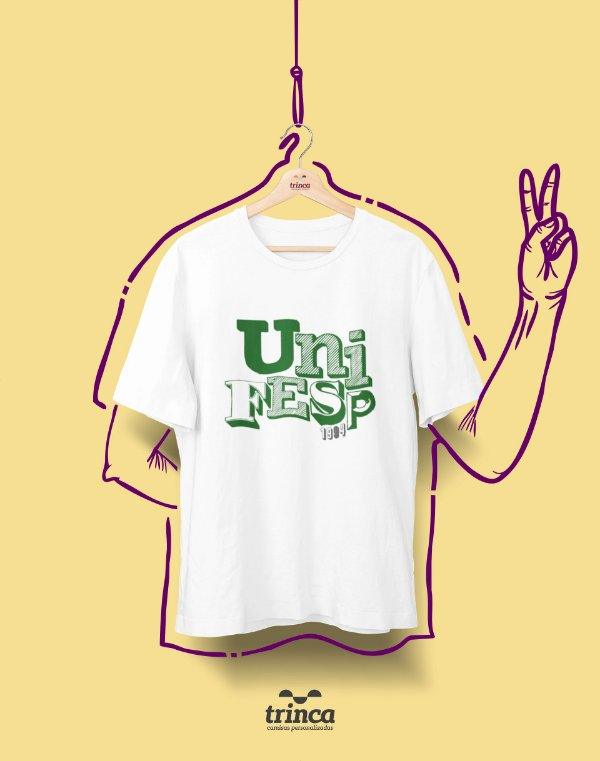Camiseta - Coleção Sou Federal - UNIFESP - Basic