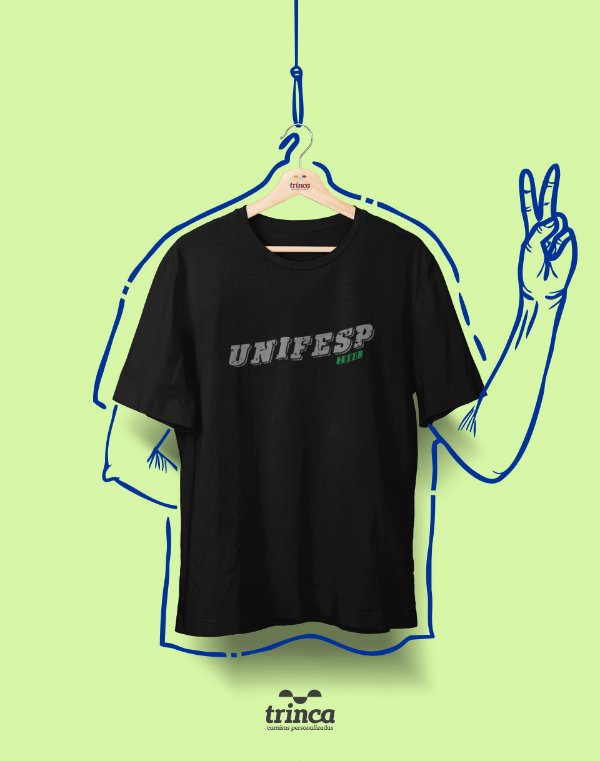 Camiseta - Coleção Somos UF - UNIFESP - Basic