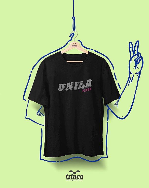 Camiseta - Coleção Somos UF - UNILA - Basic