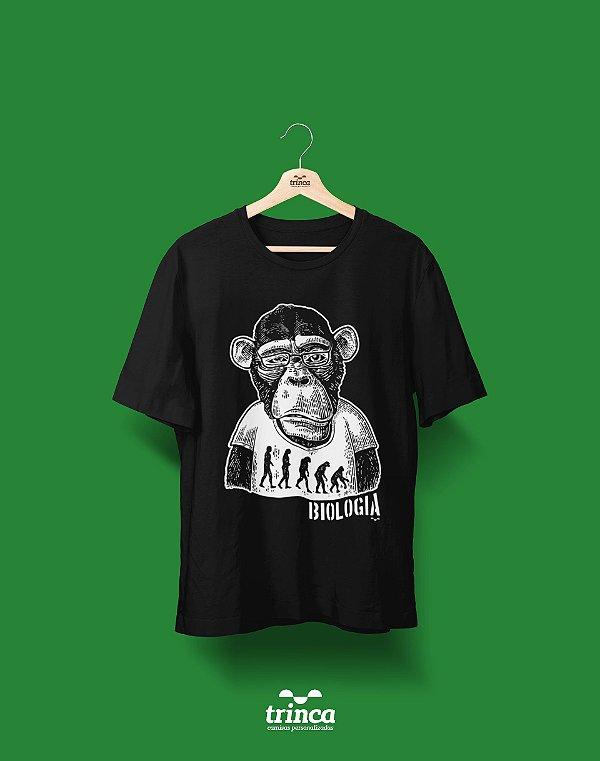Camisa Universitária Biologia - Segundo sol - Basic
