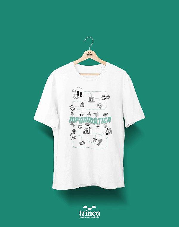 Camisa Universitária Ciências da Computação - Conectados - Basic