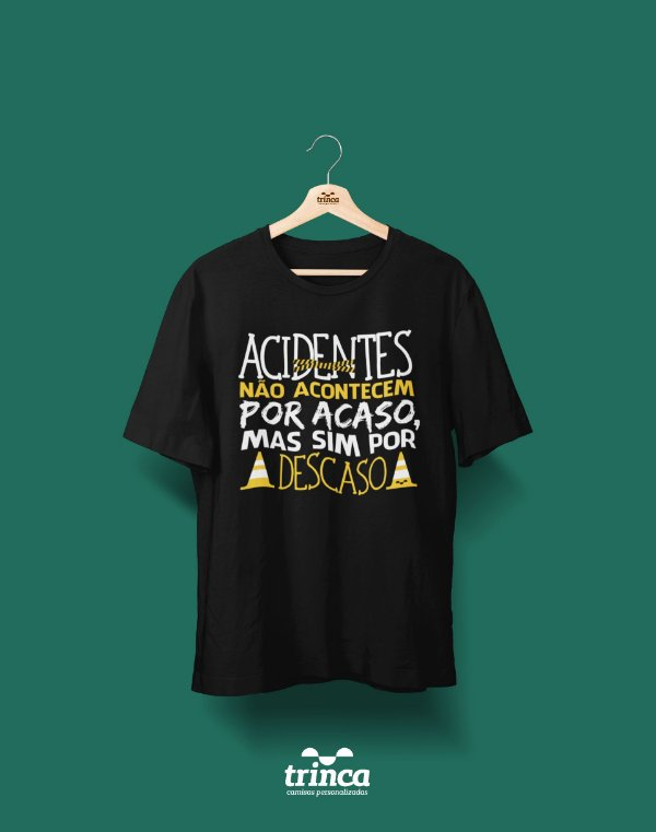 Camisa Universitária Segurança do Trabalho - O Caos - Basic