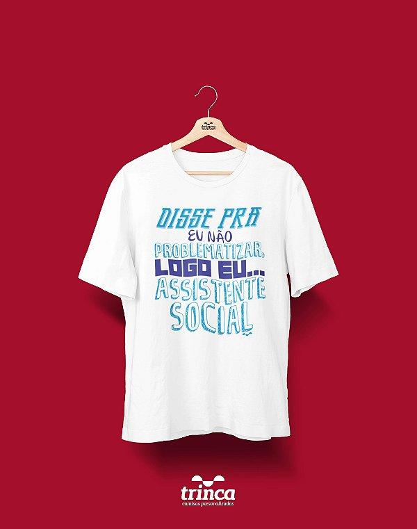 Camisa Universitária Serviço Social - Não é Mimimi - Basic