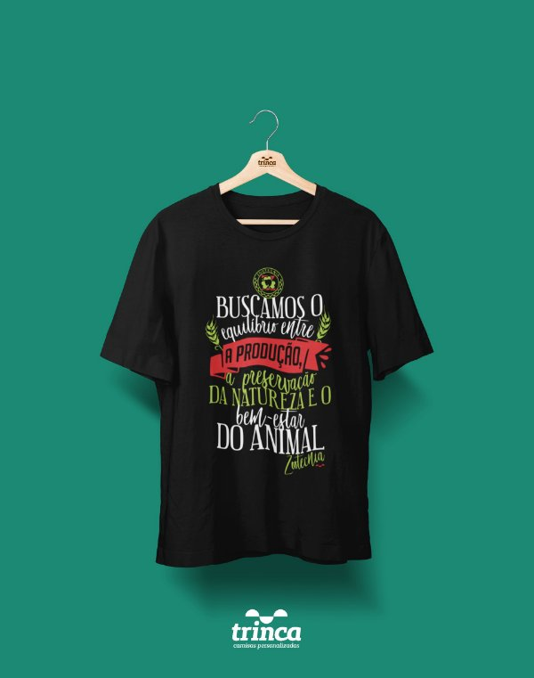 Camisa Universitária Zootecnia - Ponto de Equilíbrio - Basic