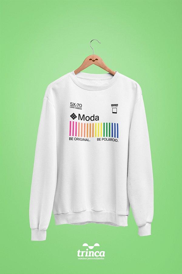 Moletom Básica (Flanelado) - Coleção Polaroid - Moda