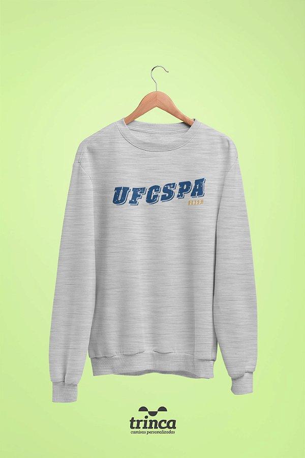 Moletom Básica (Flanelado) - Coleção Somos UF - UFCSPA