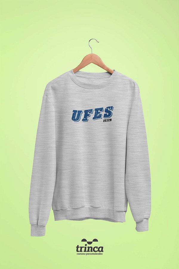 Moletom Básica (Flanelado) - Coleção Somos UF - UFES