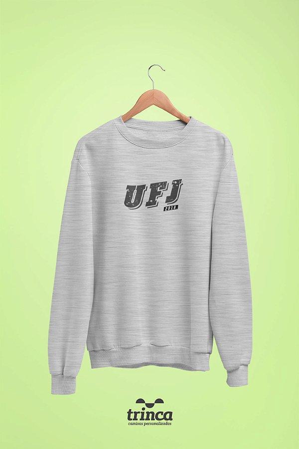 Moletom Básica (Flanelado) - Coleção Somos UF - UFJ