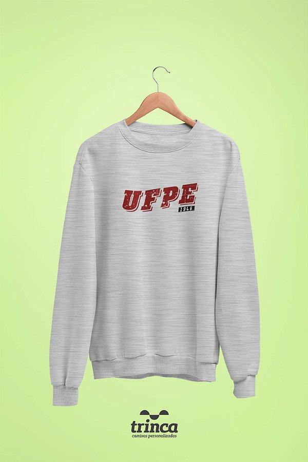 Moletom Básica (Flanelado) - Coleção Somos UF - UFPE