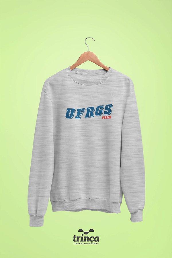 Moletom Básica (Flanelado) - Coleção Somos UF - UFRGS