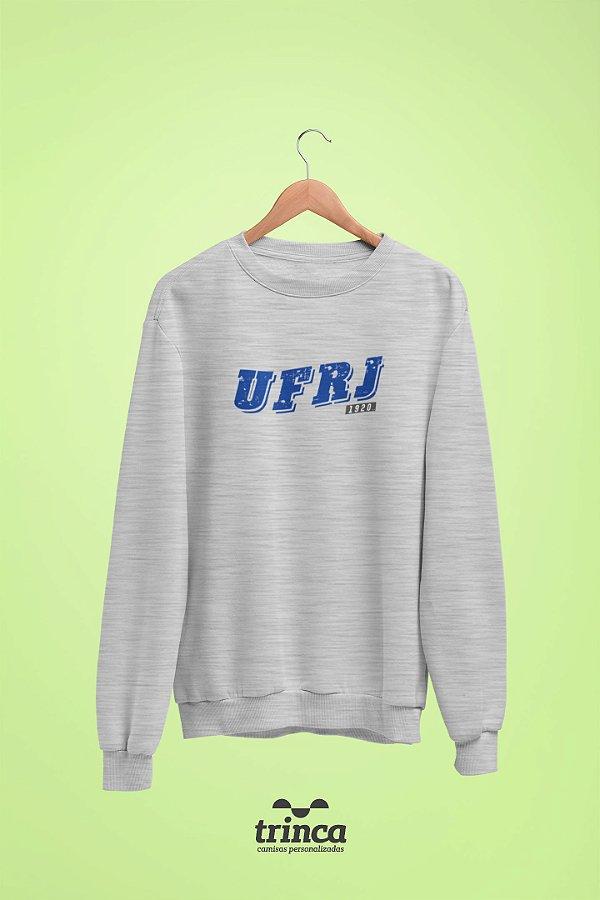 Moletom Básica (Flanelado) - Coleção Somos UF - UFRJ