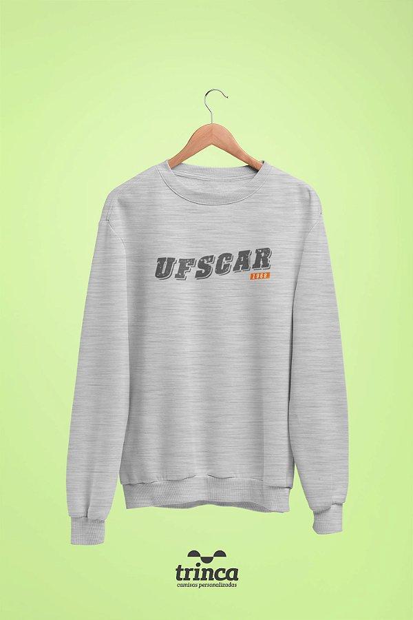 Moletom Básica (Flanelado) - Coleção Somos UF - UFSCAR