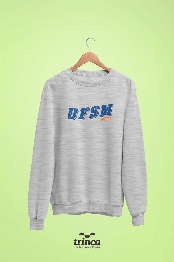 Moletom Básica (Flanelado) - Coleção Somos UF - UFSM
