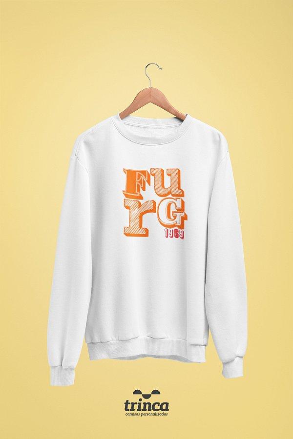 Moletom Básica (Flanelado) - Sou Federal - FURG