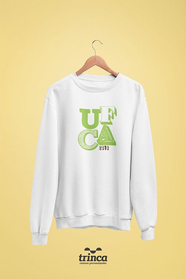 Moletom Básica (Flanelado) - Sou Federal - UFCA