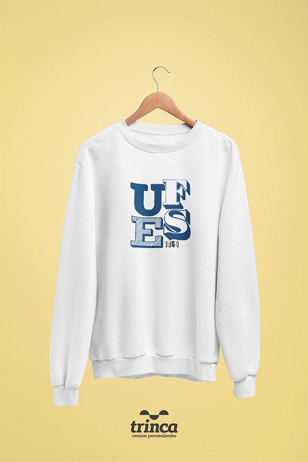 Moletom Básica (Flanelado) - Sou Federal - UFES