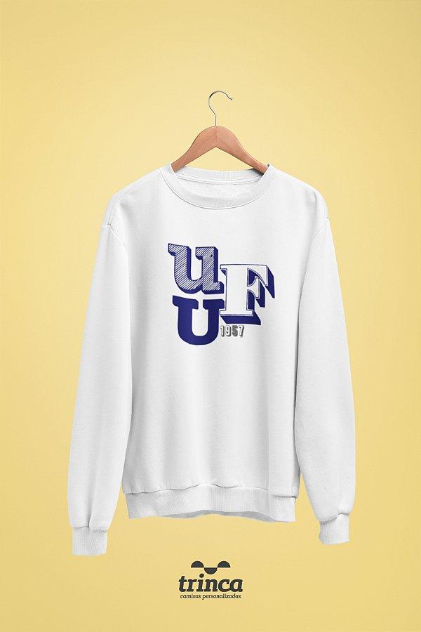 Moletom Básica (Flanelado) - Sou Federal - UFU