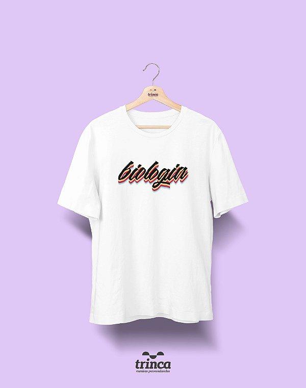 Camiseta - Coleção Grafite - Biologia - Basic