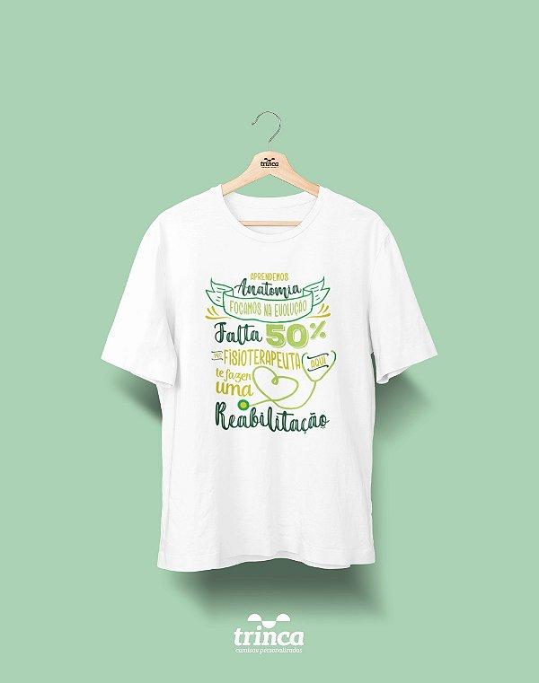 Camisa Fisioterapia - Reabilitação - Basic