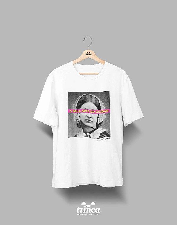 Camiseta - Coleção Imortais - Florence Nightingale  - Basic