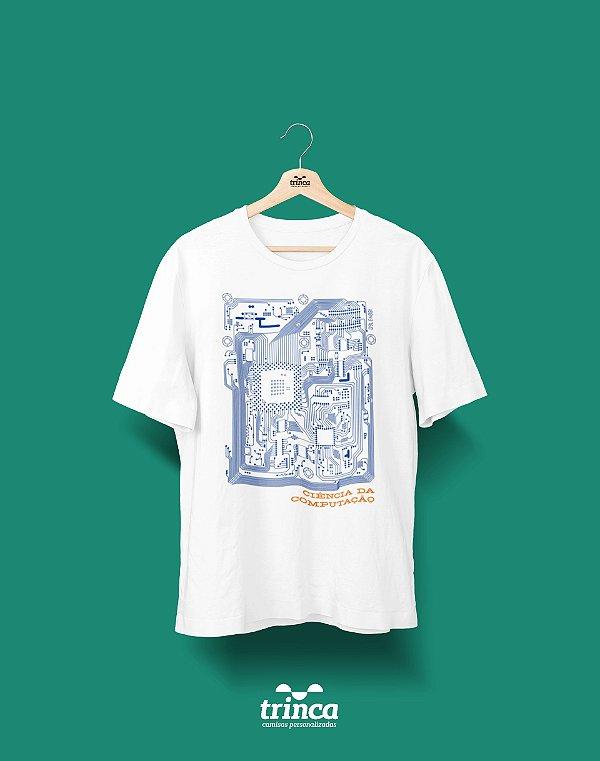 Camisa Universitária Ciências da Computação - Circuito - Basic