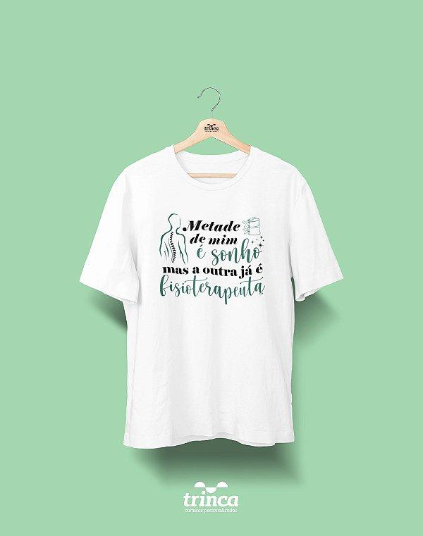 Camisa Universitária Fisioterapia - Meio Sonho - Basic