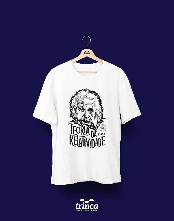 Camisa Universitária Física - Teoria da Relatividade - Basic