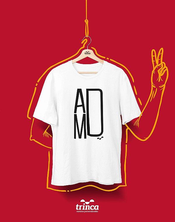Camiseta Universitária - Administração - Minimal - Basic