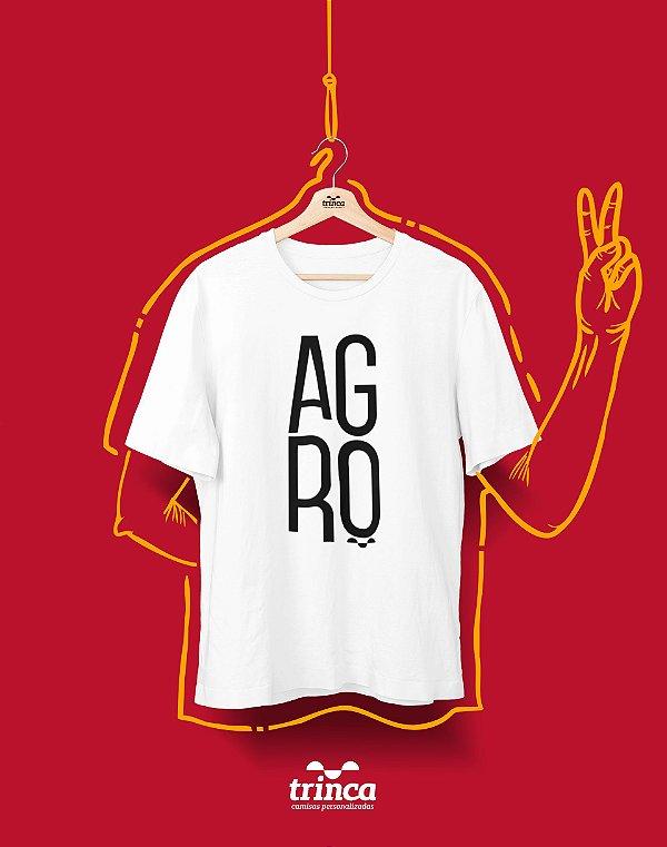 Camiseta Universitária - Agronomia - Minimal - Basic