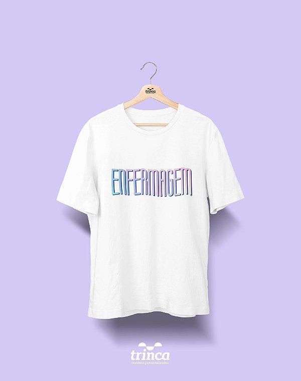 Camiseta Universitária - Tie Dye - Enfermagem - Basic