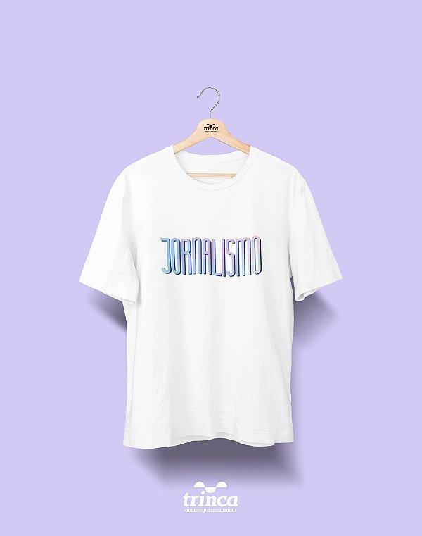 Camiseta Universitária - Tie Dye - Jornalismo - Basic