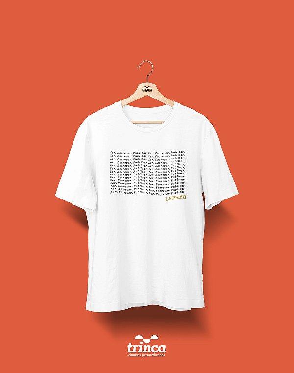 Camisa Universitária Letras - Mantra - Basic