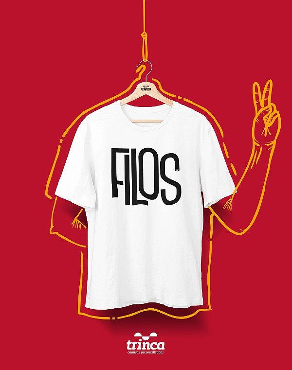Camiseta Personalizada - Minimal - Filosofia - Basic